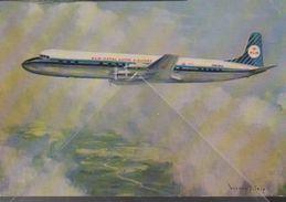 Douglas DC 7 KLM - ROYAL DUTCH AIRLINES Airways - Douglas DC7C Airline Issue - 1946-....: Moderne