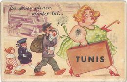 Villes, Système Dépliant – Tunis ( Femme Obèse ) - Tunisie