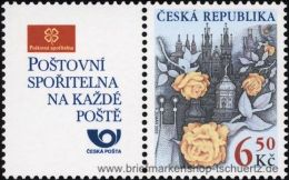 Tschechien 2003, Mi. 379-80 Zf ** - Repubblica Ceca
