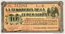 MEXIQUE : 10 Ctvs Tesoreria De La Federacion 1914 (unc) - Mexique