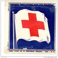 Vignette Croix Rouge Française 50 Fr - Vieux Papiers