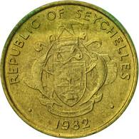 Seychelles, 5 Cents, 1982, British Royal Mint, TTB, Laiton, KM:47.1 - Seychelles