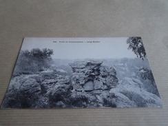 CP FORET DE  FONTAINEBLEAU  Long Rocher - Fontainebleau