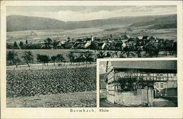 AK Buttlar Bermbach, Gesamtansicht, Gasthaus Anna Kind, O 1942, Eckknick Oben Links (4950) - Duitsland