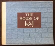 THE HOUSE OF K&J  EDIZIONE LUSSO CON INVITO ALLEGATO ED.KENRICK & JEFFERSON  LTD 1953 - Exploration/Travel