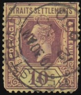 STRAITS SETTLEMENTS - Scott #168 King George V / Used Stamp - Great Britain (former Colonies & Protectorates)