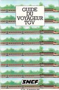 SNCF - GUIDE DU VOYAGEUR TGV (23 Mai - 25 Septembre 1982) - Chemin De Fer