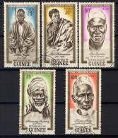 GUINEE - 115/119° - HEROS ET MARTYRS AFRICAINS - Guinee (1958-...)