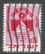 Israel 1969. Scott #389 (U) Arms Of Bat Yam, Armoirie - Israel