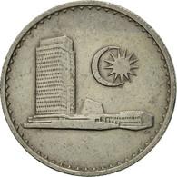 Malaysie, 10 Sen, 1968, Franklin Mint, TTB+, Copper-nickel, KM:3 - Malaysie