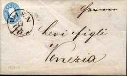 24146 Lombardei/venetien 1861 From Vienna To Venezia / Wien Venedig 1861 - Covers & Documents