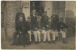 C. Photo Souvenir Des Greves 30 Juillet 1908, Draveil, Evry, Villeneuve St Georges , Carrieres Sablières Envoi  Chatou - France