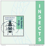 GAMBIA ; SCOTT # 3475 ; IGPC1231 S ; MINT N.H STAMPS ( INSECTS - Gambia (1965-...)