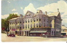 Hotel Beech-Nut, Canajaharie, In The Historic Mohawk Valley Of New York State - NY - New York