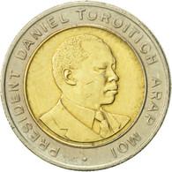 Kenya, 5 Shillings, 1995, British Royal Mint, TTB+, Bi-Metallic, KM:30 - Kenya