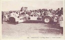 CPA CITROEN KEGRESSE Autochenille DEAUVILLE L'Auto-Chenille - Postcards