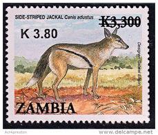 Zm1129 ZAMBIA 2014,  K3.80 On  K3,300 Animals  MNH (Issued 02-05-2014) - Zambia (1965-...)