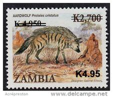 Zm1101 ZAMBIA 2013, New Currency K4.95 On  K4,900 On K2,700 Animals  MNH - Zambia (1965-...)