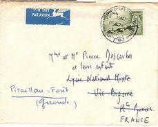 L-I/J13 - ISRAEL Lettre Par Avion Pour Vic Bigorre - Airmail