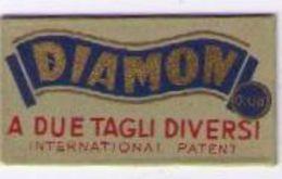 LAMETTA DA BARBA - DIAMON 0.08    ANNO 1940/50 - Lamette Da Barba