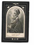 Bidprent Image Mortuaire   Saint Leon    Overleden 1873 - Devotion Images