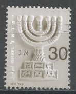 Israel 2002. Scott #1502 (U) Menorah - Israel