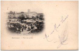 65 MAUBOUQUET - Place Aux Grains     (Recto/Verso) - Frankrijk