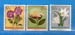 (MN1) RUANDA-URUNDI *- 1953 -  YVERT. 177-178-179 .  MH.  Linguellati Vedi Descrizione - Ruanda