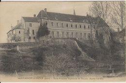 D36 - SAINT BENOIT DU SAULT - ECOLE PRIMAIRE SUPERIEURE DE GARCONS (FACADE SUD EST) - Frankreich