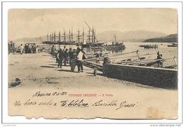 TERMINI IMERESE IL PORTO DEL 1901 VIAGGIATA FP - Palermo