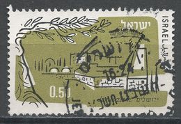 Israel 1961. Scott #C24 (U) Jerusalem - Poste Aérienne