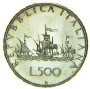 [NC] ITALIA - 500 LIRE CARAVELLE 1970 FDC DA DIVISIONALE - 1946-… : Repubblica