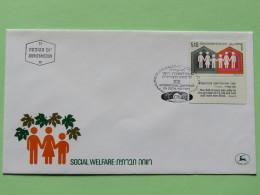 Israel 1978 FDC Cover - Social Welfare - Israël