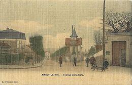 CPA Marly-le-Roi  Avenue De La Gare - Marly Le Roi