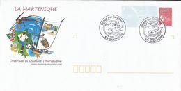 PAP Voyage Aux Caraïbes,  La Martinique Diversité Touristique, Ananas, Bananes, Voilier.., 8/5/2015 St Pierre - Prêts-à-poster:  Autres (1995-...)