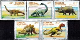 MTDR-BK2-235 MINT ¤ SENEGAL 1994 5w In Serie ¤ DINOSAURS - PREHISTORICS - PRÉHISTORIQUES - DINO'S - PREHISTORIE - Prehistorics