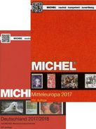 MlCHEL 2017/2018 Deutschland+Europa Band 1 New 126€ D DR Berlin SBZ DDR AM BRD A CH FL HU CZ CSR SLOW UNO Genf Wien - Autriche