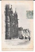 Cpa Montdidier - Eglise Du Saint-Sulpice Et Maison Où Est Né Parmentier . (Précurseur). - Montdidier