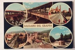 BASSANO DEL GRAPPA VEDUTE VIAGGIATA FG - Vicenza