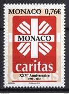 ** MONACO 2015 - N° 2971 -.25 ANS DE CARITAS MONACO  - NEUF ** - Monaco