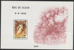 Blok 57 Bois Du Cazier Oblit/gestp Centrale - Blocs 1962-....