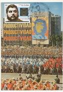 """Maximum  """" Revolutionnaire """"  Ché Guevara  1er Mai La Havane Dictature Castro Idolatrie Format 10/15 - Hommes Politiques & Militaires"""