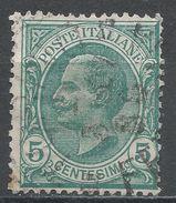 Italy 1906. Scott #94 (U) King Victor Emmanuel III - 1900-44 Victor Emmanuel III