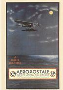 Cp Entier Postal France, Aéropostale 2017, Hydravion - Avions