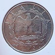 ♕♕  Italie : 2 Lire ' Vittorio Emanuele III ' 1940 R  ♕♕ - 1900-1946 : Victor Emmanuel III & Umberto II