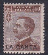 Italy-Italian Offices Abroad-La Canea  S18 1907-12, 40c Mint Hinged - La Canea
