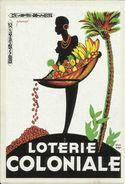 BELGIQUE - Carte N° 64 Du SOIR -- CONGO - Affiche De La Loterie Colonial, Créé En 1934. - Congo Belge - Autres