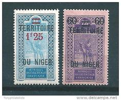 Colonie  Timbres Du Niger De 1922/26   N°21  Et  24  Neufs - Niger (1921-1944)