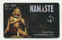 TK 24622 NEPAL - Prepaid Namaste Rs.500 - Nepal