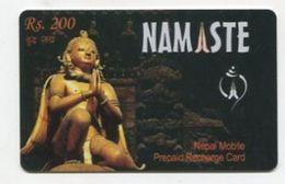 TK 24623 NEPAL - Prepaid Namaste Rs.300 - Nepal